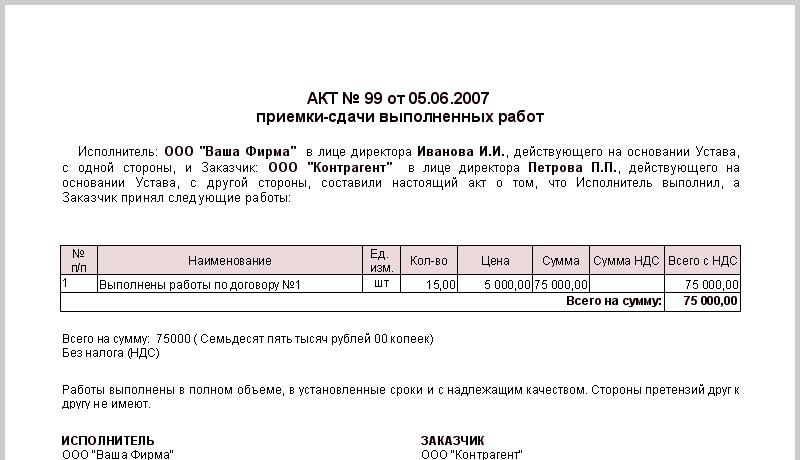 Пример акта выполненных работ продвижение сайта vbulletin an xrumer service is caseload