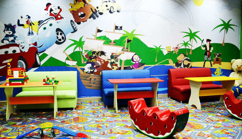 детской игровой комнаты