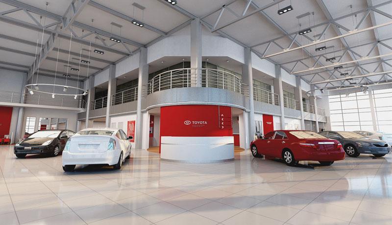 Салон по продаже автомобилей