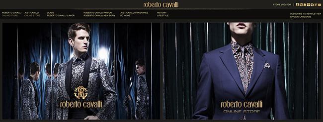 roberto cavalli официальный сайт