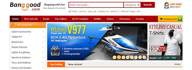 Почему доставка из Китая бесплатная у такого интернет-гиганта как сайт Banggood?