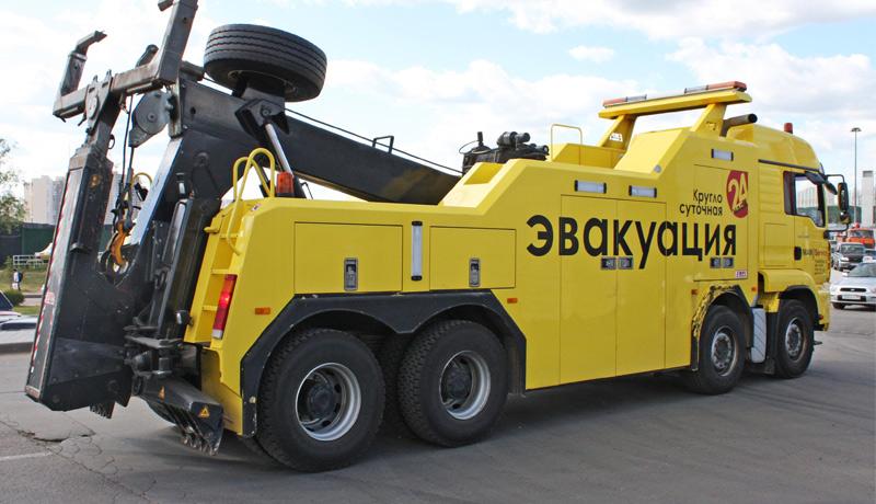 Покупаем эвакуатор для грузовиков