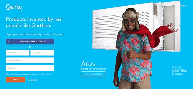 сайт краудсорсинга для изобретателей Quirky