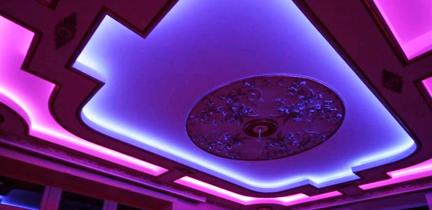 Натяжной потолок. Фото №3