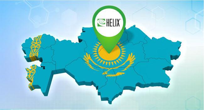 Франшиза Хеликс теперь и в Казахстане