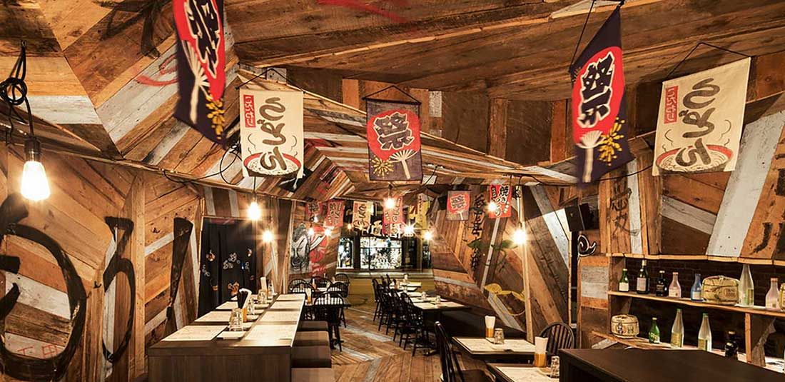 Японский ресторан в Канаде